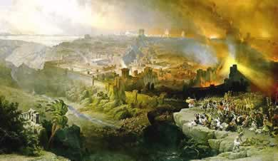 The Fall of Jerusalem in 70 AD